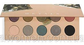 Тени для глаз Zoeva ZOEVA Mixed Metals Eyeshadow Palette