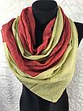 Двоколірний шарф-палантин (1), фото 2