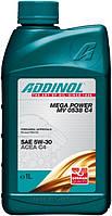 Моторное масло для легковых авто Addinol MV 0538 C4 Mega Power 1l
