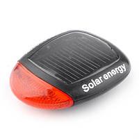 Задний велосипедный фонарь на солнечной батарее 2 LED