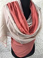 Двухцветный шарф-палантин (3), фото 1