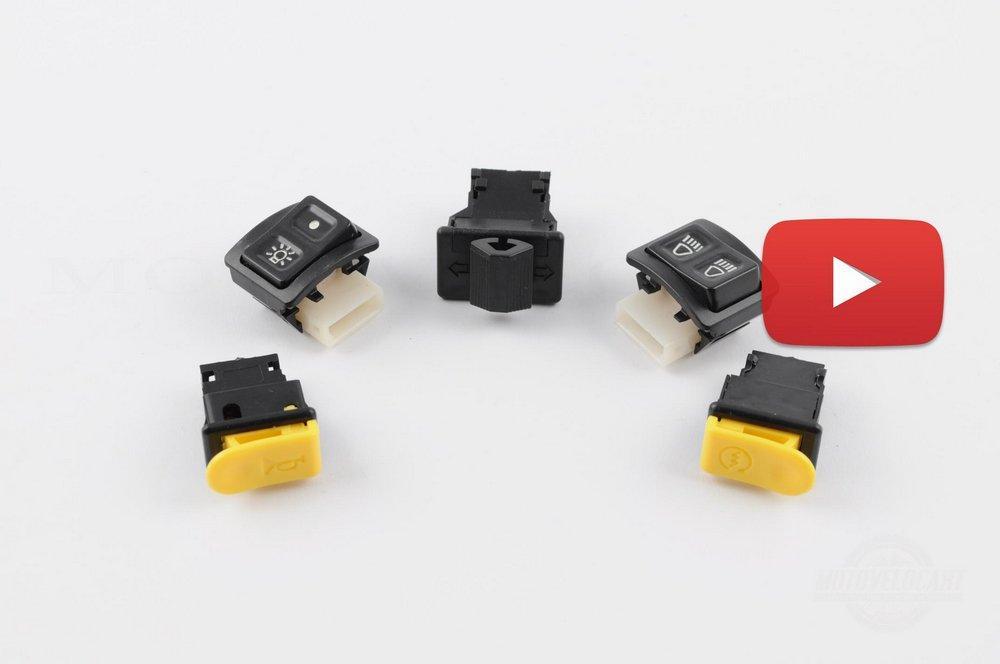 Кнопки руля (набор)   Honda DIO AF18, TACT AF16, компл.