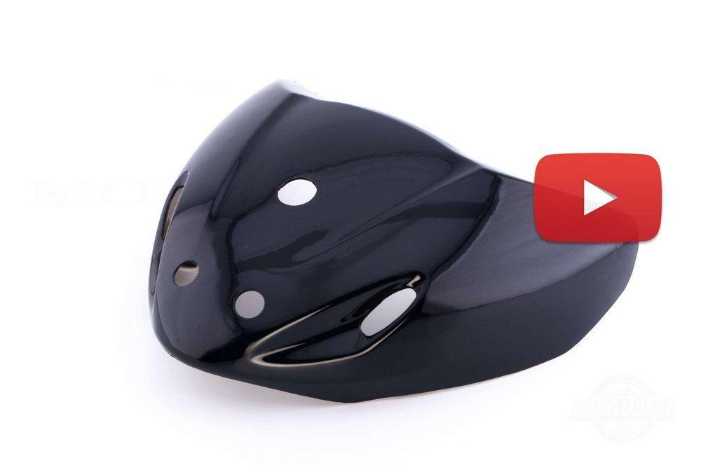 Пластик   Active   передний (клюв)   (черный)   CX, шт