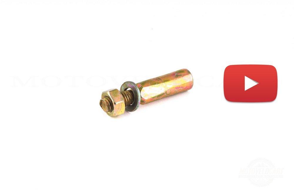 Клин шатуна велосипеда   (ремонт) (d-9,8 mm)   , шт