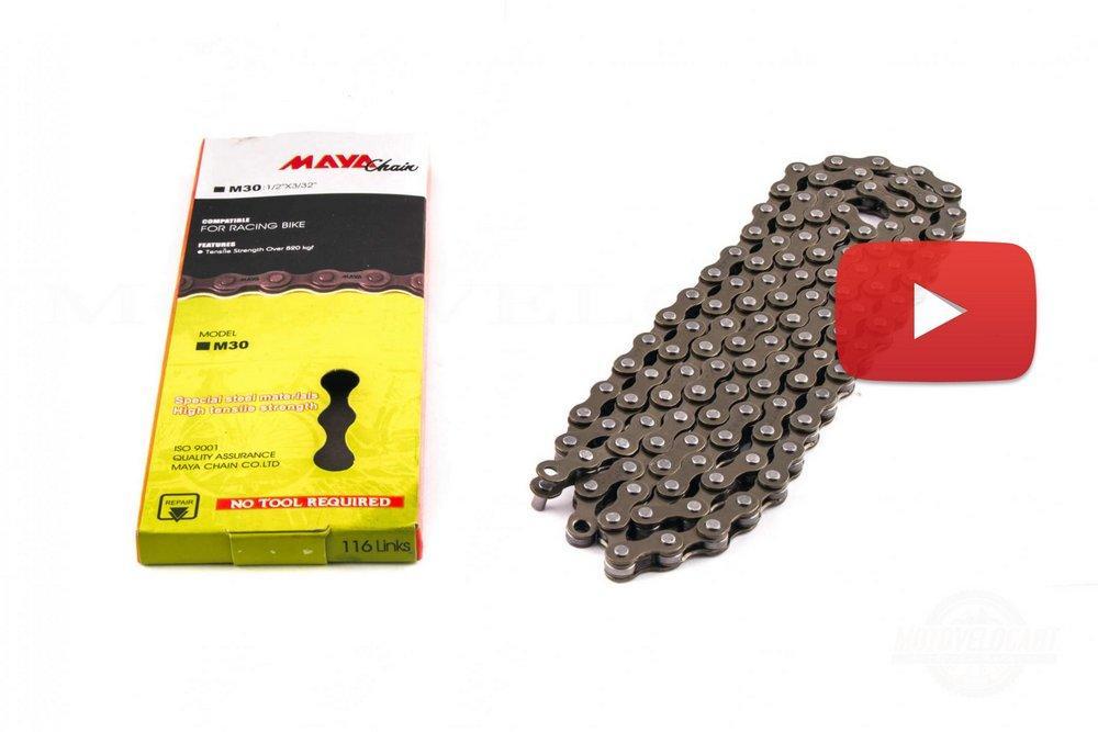 Цепь велосипедная   (1/2х3/32, 116L, 1 ск)   MAYA Chain   , шт