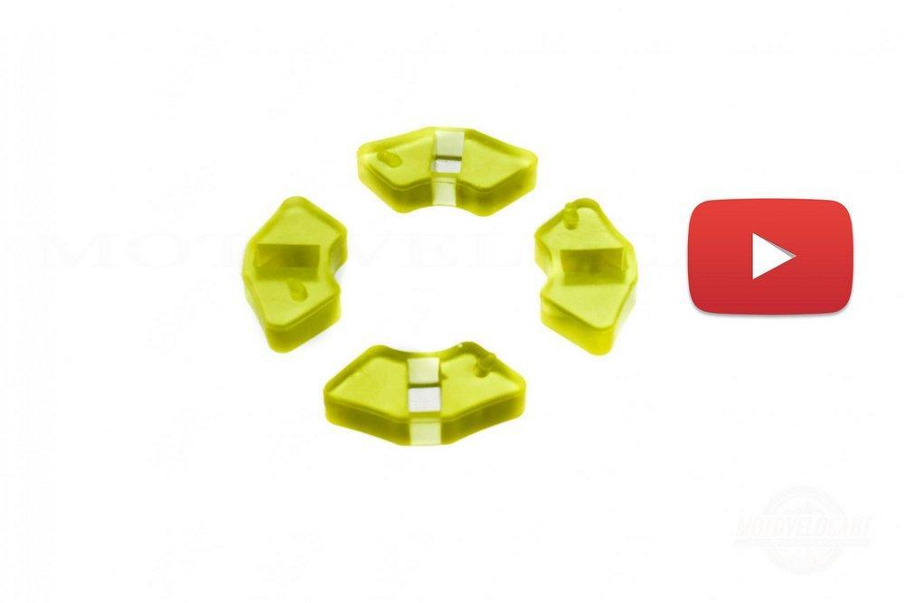 Резинка демпферная (комплект)   Delta   (силикон)   KOMATCU   (mod.A), компл.