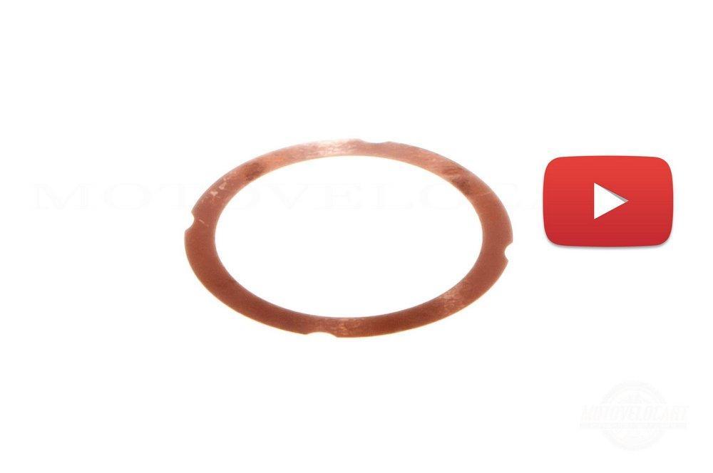 Прокладка головки цилиндра   МУРАВЕЙ   (медь)   JING   (mod.A), шт