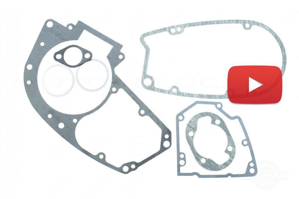 Прокладки двигателя (набор)   МИНСК 6V   JING   (mod.A), компл.