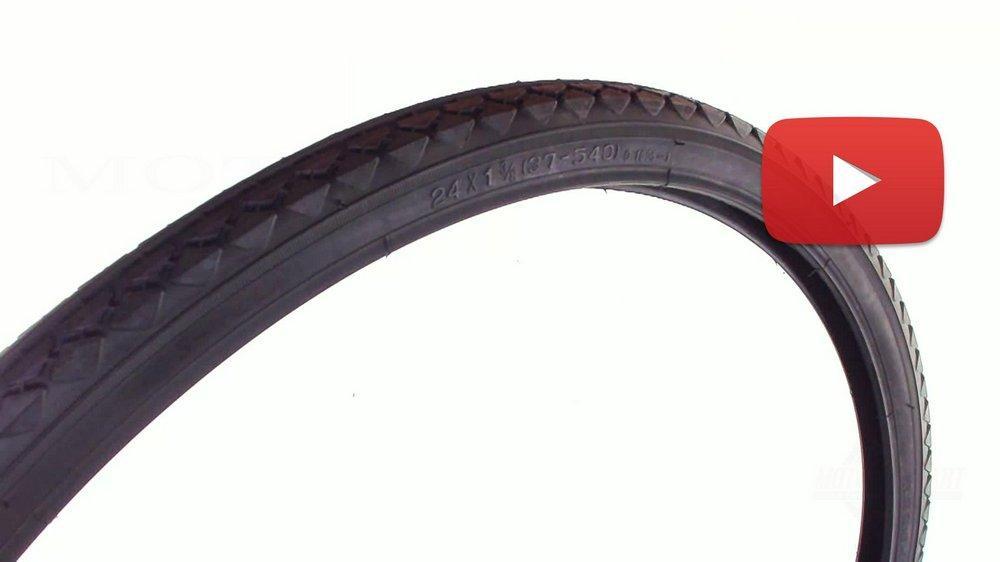 Велосипедная шина   24 * 1 3/8   (37-540)   Deestone   , шт