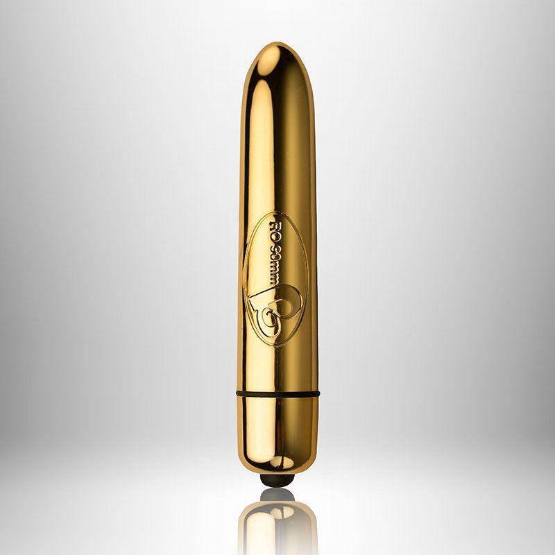 Вибратор Rocks Off RO-90mm 10 Speed GOLD