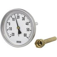 Биметаллический термометр, для систем отопления 46