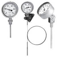 Манометрический термометр, серия из нержавеющей стали  73