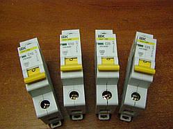 Автоматический выключатель 1р 16А ВА47-29М ИЕК B