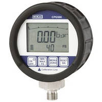 Digital pressure gauge  - ranges: -1 ... +20 up to 1000 bar  - accuracy: 0.25% CPG500