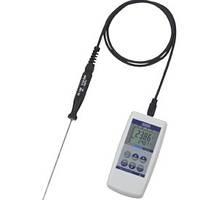Цифровой термометр  - Диапазон: -50...250°C  - Расширенная неопределенность: < 0.2 K / до 50 мК CTH6200