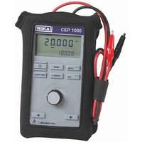 Калибратор токовой цепи - диапазон: 0.000 ... 24.000 мА                  0.000 ... 28.000 Вольт - погрешность: 0.015% от ИВ CEP1000
