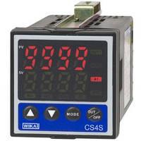 ПИД-контроллер температуры, самонастройка, для панельной установки, размеры 48 x 48 мм CS4S