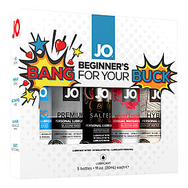 Подарочный набор System JO Limited Edition Gift Set - Bang For Your Buck (5 х 30 мл)