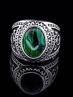 Кольцо Малахит 039637 размер 19