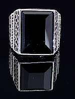Кольцо имитация Агат 037864 размер 19,5