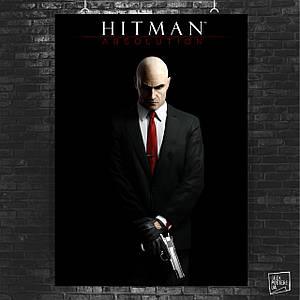 Постер Hitman, Хитмэн, Агент 47. Размер 60x42см (A2). Глянцевая бумага