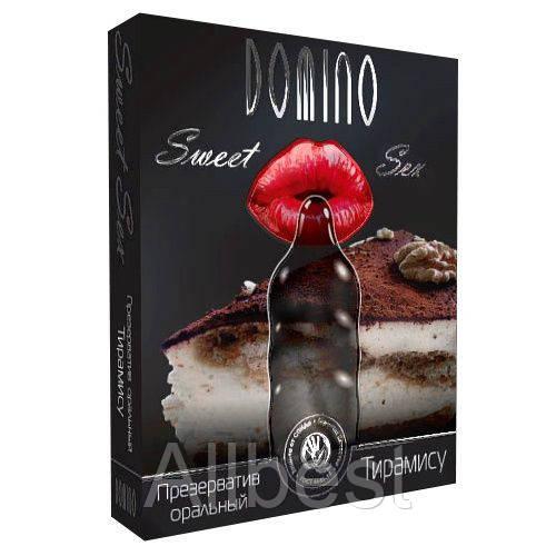 """Презервативы """"Тирамису"""" LUXE - Domino Sweet Sex (LX00104)"""
