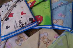 Комплекты детского постельного белья для новорожденных 110*140