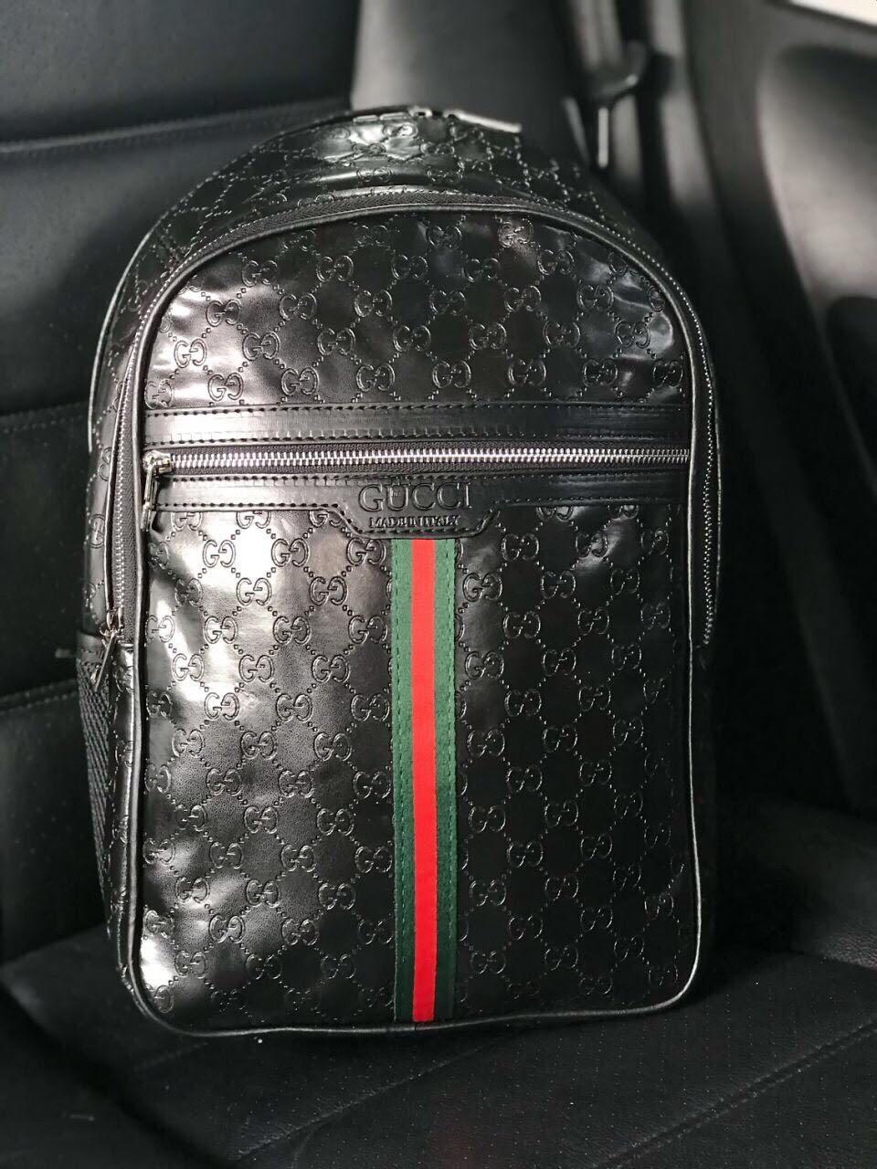 Рюкзак ранец портфель мужской черный женский GUCCI копия реплика - Bigl.ua da6c9d3411a51