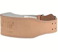 Пояс кожаный Madmax Mfb 246 (46160)