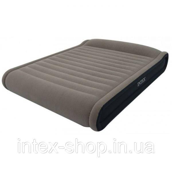 Надувная кровать Intex Deluxe Mid Rise Pillow Rest Bed 67726 (152х203х41 см.)