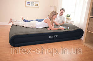 Надувная кровать Intex Deluxe Mid Rise Pillow Rest Bed 67726 (152х203х41 см.), фото 3
