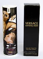 Женские духи в мини флаконе Versace Crystal Noir 50 мл