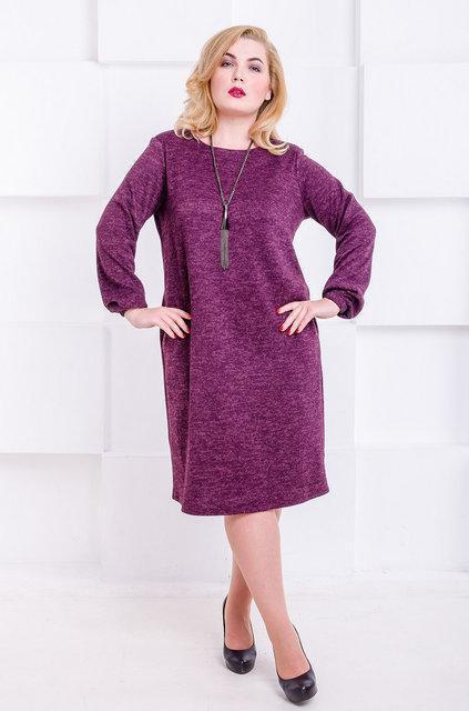 Платье Манаго 52-66 бордо