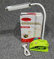 Аккумуляторный фонарь лампа 5868-1 на прищепке