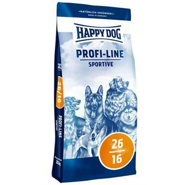 Happy Dog Profi-Line Sportive 26/16 - для собак с выс. потребностью в пит. веществах(для питомников), 20 кг