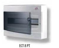 Распределительные щиты наружной установки ECT (IP40) ECT 8 PT (1101000)