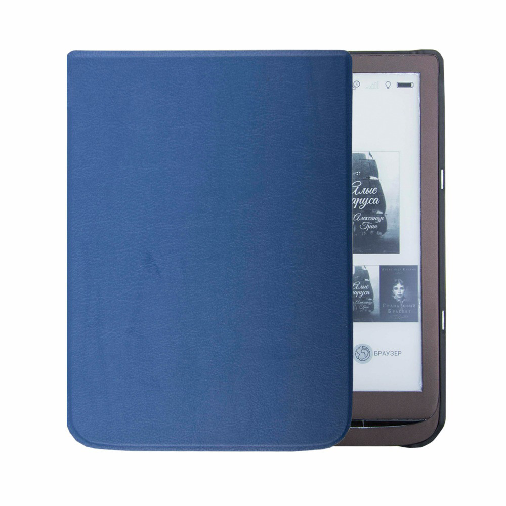 Обложка - чехол для электронной книги PocketBook InkPad 3 740 Синий