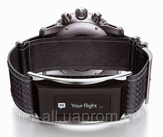 Модные часы Montblanc с «умным» ремешком e-Strap. Новости интернет-магазина Модная покупка