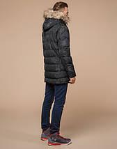 Подросток 13-17 лет |  Куртка зимняя Braggart Teenager 25030 черная, фото 3