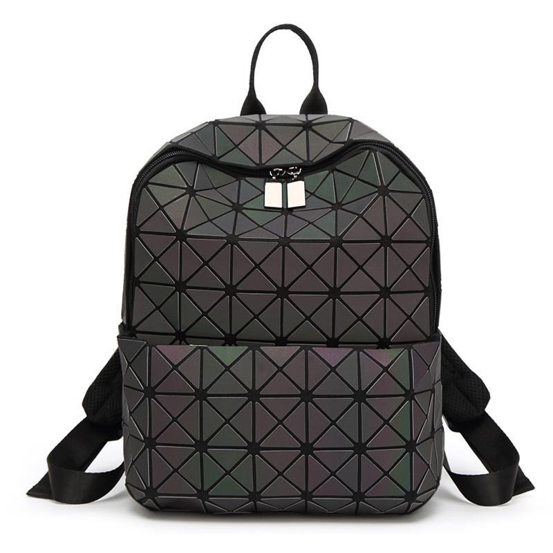 Оригинал Женский рюкзак Bao Bao с крутым геометрическим узором, светоотражающий