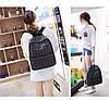 Оригинал Женский рюкзак Bao Bao с крутым геометрическим узором, светоотражающий, фото 7