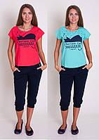 Комплект женский из футболки и капри  Nicoletta, фото 1