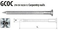 Гвоздь анкерный кольцевой 4х120 Gunnebo (Etanco) оцинкованный