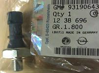 Датчик давления масла одноконтактный M10 x 1 mm (на лампочку давления масла на щитке приборов) GM 1238696 1252555 1252573 6240262 Z10XE Z10XEP Z12XE Z12XEP Z14XEL Z14XEP A14NEL A14NET B14NEL B14NET A14XER Z16XNT A16XNT Z16LEL A16LEL Z16LER A16LER A16