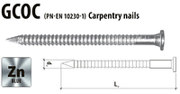 Гвоздь анкерный кольцевой 4х50  Gunnebo (Etanco) оцинкованный