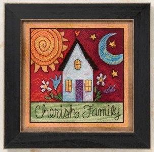 Набор для вышивки Mill Hill Cherish Family (2010)