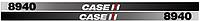 Наклейки на трактор Case 8940