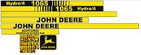 Наклейки на комбайн John Deere 1065