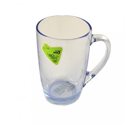 Чашка Helios Капучино голубая 345 мл 6113, фото 2