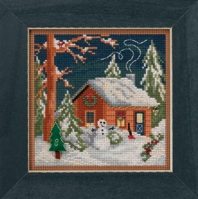 Набор для вышивки Christmas Cabin Mill Hill